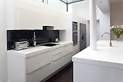 Domestic kitchen installation for a Chiswick development