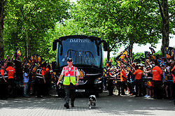 Exeter Chiefs arrives at Twickenham Stadium prior to kick off  - Mandatory by-line: Ryan Hiscott/JMP - 01/06/2019 - RUGBY - Twickenham Stadium - London, England - Exeter Chiefs v Saracens - Gallagher Premiership Rugby Final