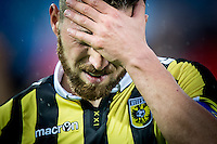 ROTTERDAM - Feyenoord - Vitesse , Voetbal , Seizoen 2015/2016 , Eredivisie , De Kuip , 23-08-2015 , Vitesse speler Guram Kashia baalt van de verloren wedstrijd