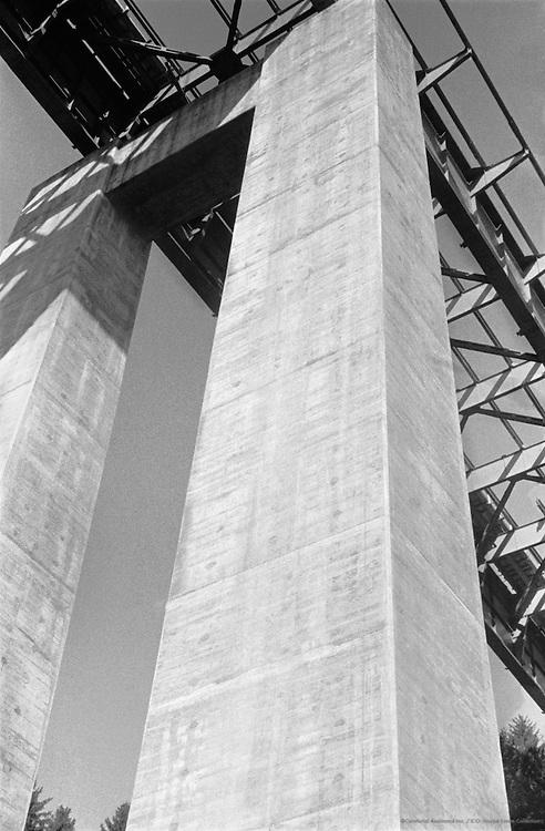 Viaduct at Vöcklabruck, Upper Austria, 1936