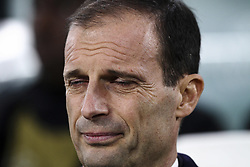 November 27, 2018 - Turin, Italy - Juventus coach Massimiliano Allegri during the Uefa Champions League Group Stage football match n.5 JUVENTUS - VALENCIA on 27/11/2018 at the Allianz Stadium in Turin, Italy. (Credit Image: © Matteo Bottanelli/NurPhoto via ZUMA Press)