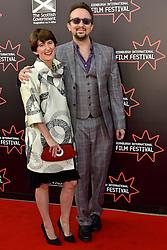 Left to Right, Alex Helfrecht (Director), Jorg Tittel (director) on the red carpet at the 2016 Edinburgh International Film Festival, WORLD PREMIERE of The White King at Cineworld, Edinburgh18th June 2016, (c) Brian Anderson | Edinburgh Elite media
