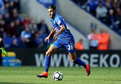 Riyad Mahrez of Leicester City runs with the ball - Mandatory by-line: Robbie Stephenson/JMP - 02/10/2016 - FOOTBALL - King Power Stadium - Leicester, England - Leicester City v Southampton - Premier League