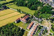 Nederland, Gelderland, Gemeente Zevenaar, 29-05-2019;  voormalig Juvenaat St. Stanislaus (kloosterlijk internaat) en nieuwbouwwijkje.<br /> Former monastic boarding school.<br /> <br /> luchtfoto (toeslag op standard tarieven);<br /> aerial photo (additional fee required);<br /> copyright foto/photo Siebe Swart
