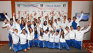 Team Italy to Casa Italia
