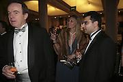 Simon Greenshield, Michelle and Angad Paul, Morgan Stanley Great Briton 2006. The Guildhall. Basinghall st. London. 18 January 2006. h by Dafydd Jones. 248 Clapham Rd. London SW9 0PZ. Tel 0207 820 0771. www.dafjones.com.