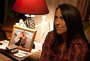 Ellen Hensley, mother of the slain Jerrica Christensen, reflects on her family's painful ordeal and legal battles in her Leeds home, Thursday, Dec. 6, 2012.