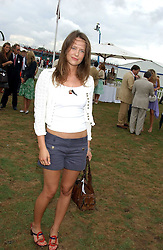 ARABELLA MUSGRAVE at the 2005 Cartier International Polo between England & Australia held at Guards Polo Club, Smith's Lawn, Windsor Great Park, Berkshire on 24th July 2005.<br />