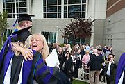 Law School graduates celebrate after commencement. (Photo by Gonzaga University)