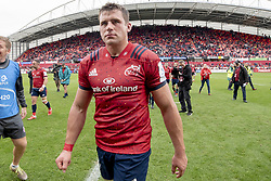 October 20, 2018 - Limerick, Ireland - CJ Stander of Munster during the Heineken Champions Cup match between Munster Rugby and Gloucester Rugby at Thomond Park in Limerick, Ireland on October 20, 2018  (Credit Image: © Andrew Surma/NurPhoto via ZUMA Press)