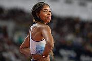 Abigail Irozuru (Great Britain), Long Jump Women - Final, during the 2019 IAAF World Athletics Championships at Khalifa International Stadium, Doha, Qatar on 6 October 2019.