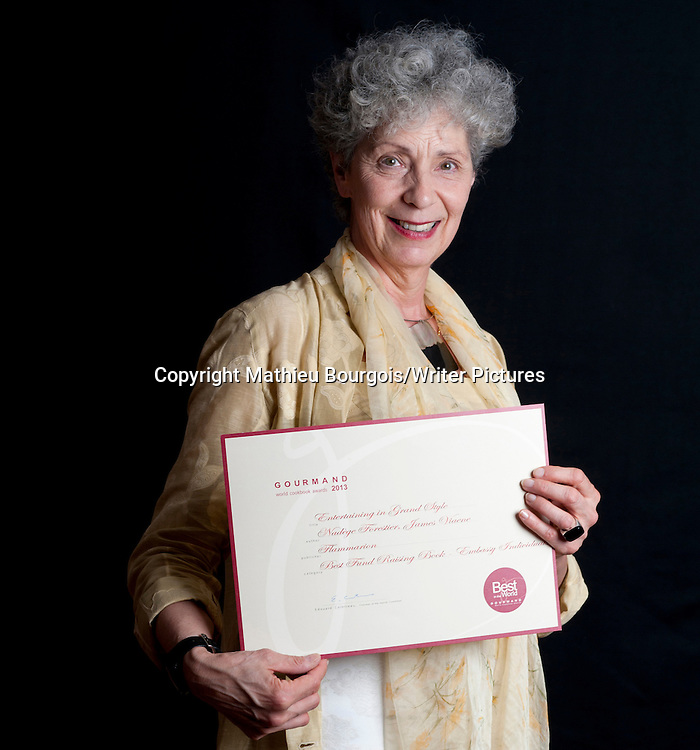 Jana Navratil Manent, at the Gourmand World Cookbook Awards, Beijing, China<br /> 19 May 2014<br /> <br /> Picture by Mathieu Bourgois/Writer Pictures<br /> <br /> NO FRANCE NO CHINA
