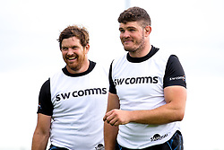 and Greg Holmes of Exeter Chiefs  - Mandatory by-line: Robbie Stephenson/JMP - 02/09/2019 - RUGBY - Sandy Park - Exeter, England - Exeter Chiefs Preseason Training