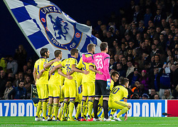 Players of Maribor during football match between Chelsea FC and NK Maribor, SLO in Group G of Group Stage of UEFA Champions League 2014/15, on October 21, 2014 in Stamford Bridge Stadium, London, Great Britain. Photo by Vid Ponikvar / Sportida.com