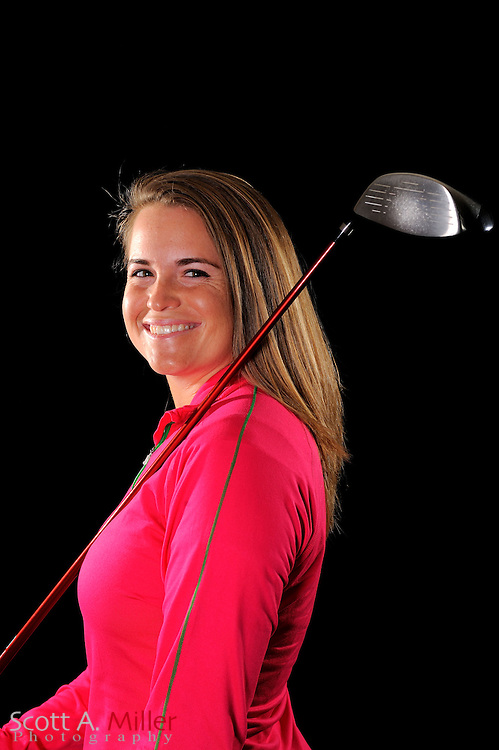 Jackie Barenborg during a portrait shoot prior to the LPGA Futures Tour's Daytona Beach Invitational at LPGA International's Championship Courser on March 29, 2011 in Daytona Beach, Florida... ©2011 Scott A. Miller