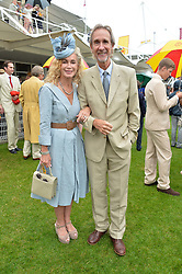 MIKE & ANGIE RUTHERFORD at day 3 of the Qatar Glorious Goodwood Festival at Goodwood Racecourse, Chechester, West Sussex on 28th July 2016.