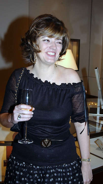 The HON.PETRONELLA WYATT at a party to celebrate the publication of 'Last Voyage of The Valentina' by Santa Montefiore at Asprey, 169 New Bond Street, London W1 on 12th April 2005.<br /><br />NON EXCLUSIVE - WORLD RIGHTS