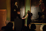 DR. CAROL HOMDEN; CERRIE BURNELL, Founding Fellows 2010 Award Ceremony. Foundling Museum on Monday  8 March