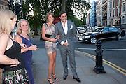 GABRIELA PEACOCK; DAVID PEACOCK, , Conservative Summer Party. Royal  Hospital Chelsea. London.  5 July 2010. -DO NOT ARCHIVE-© Copyright Photograph by Dafydd Jones. 248 Clapham Rd. London SW9 0PZ. Tel 0207 820 0771. www.dafjones.com.