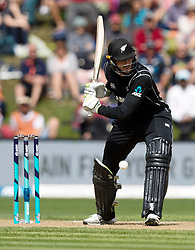 New Zealand's Martin Guptill leaves a delivery against Pakistan in the third one day cricket international at the University of Otago Oval, Dunedin, New Zealand, Saturday, January 13, 2018. Credit:SNPA / Adam Binns ** NO ARCHIVING**