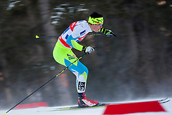Miha Simenc (SLO) during the Man team sprint race at FIS Cross Country World Cup Planica 2016, on January 17, 2016 at Planica, Slovenia. Photo By Urban Urbanc / Sportida
