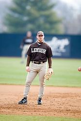 Lehigh first baseman Dan Clauson.  The #17 ranked Virginia Cavaliers baseball team defeated the Lehigh Mountain Hawks 12-1 at the University of Virginia's Davenport Field in Charlottesville, VA on February 24, 2008.