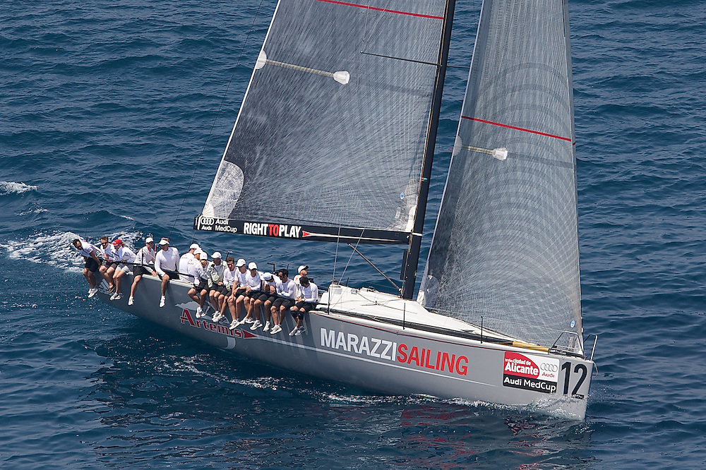 SPAIN, Alicante, 12th May 2009, AUDI MedCup, City of Alicante Trophy, Practice Race, Marazzi Racing.