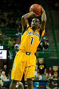 WACO, TX - JANUARY 11: Kenny Chery #1 of the Baylor Bears shoots the ball against the TCU Horned Frogs on January 11, 2014 at the Ferrell Center in Waco, Texas.  (Photo by Cooper Neill/Getty Images) *** Local Caption *** Kenny Chery