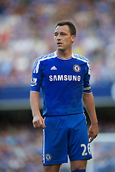 LONDON, ENGLAND - Saturday, August 20, 2011: Chelsea's John Terry in action against West Bromwich Albion during the Premiership match at Stamford Bridge. (Pic by David Rawcliffe/Propaganda)