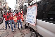 MayDay Parade 2013, Milano. Lavoratori immigrati dallo Sri Lanka.