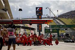 October 21, 2017 - Austin, United States of America - Motorsports: FIA Formula One World Championship 2017, Grand Prix of United States, .#5 Sebastian Vettel (GER, Scuderia Ferrari) (Credit Image: © Hoch Zwei via ZUMA Wire)