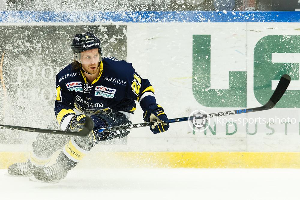160204 Ishockey, SHL, HV71 - Fr&ouml;lunda<br /> (21) Mattias Tedenby, HV71, singel action.<br /> &copy; Daniel Malmberg/IBL-AOP