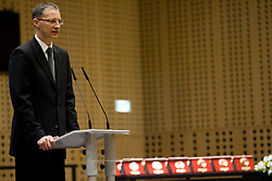 Slovenian Minister for school and sport dr. Igor Luksic at 45th Awards of Stanko Bloudek for sports achievements in Slovenia in year 2009, on February 9, 2010, Brdo pri Kranju, Slovenia.  (Photo by Vid Ponikvar / Sportida)