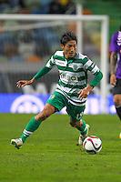 Junya Tanaka - 28.01.2015 - Sporting / Vitoria Setubal -Coupe de la ligue- Portugal-<br /> Photo : Carlos Rodrigues /  Icon Sport