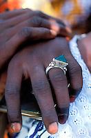 Mali - Sofara - Berger Peul - Mains