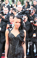 Singer Cassie at the Killing Them Softly gala screening at the 65th Cannes Film Festival France. Tuesday 22nd May 2012 in Cannes Film Festival, France.