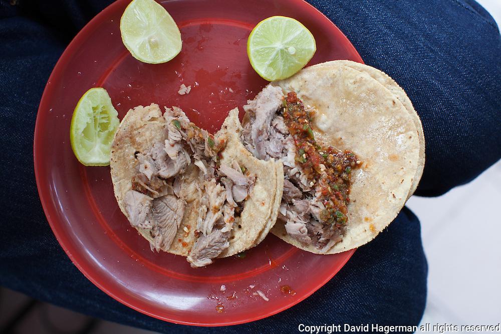 Carnitas tacos.