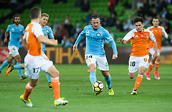 October 6, 2017 - Melbourne, Victoria, Australia - Melbourne, Victoria, Australia - Ross McCormack (#44) of Melbourne City in action during the round 1 match between Melbourne City and Brisbane Roar at AAMI Park in Melbourne, Australia during the 2017/2018 Australian A-League season. (Credit Image: © Theo Karanikos via ZUMA Wire)