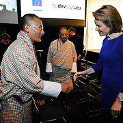 20150604- Brussels - Belgium - 04 June2015 - European Development Days - EDD  - Queen Mathilde of Belgium meets Tshering Tobgay PM Bhutan  © EU/UE