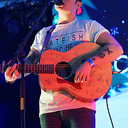 Charlie Moss preforms at X-Factor's Sam Lavery to Switch on Christmas Lights at Stratford Centre inside Stratford Shopping Centre, 26th November 2016, London,UK. Photo by See Li