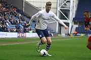 Preston North End Midfielder Paul Gallagher during the Sky Bet Championship match between Preston North End and Queens Park Rangers at Deepdale, Preston, England on 19 March 2016. Photo by Pete Burns.