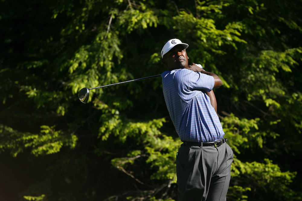 Vijay Singh of Fiji during the final round of the Barclays Classic at the Westchester Country Club in Rye, New York, Saturday 10 June 2006.
