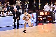 DESCRIZIONE : Milano Lega A 2014-15 <br /> EA7 Olimpia Milano - Acea Virtus Roma <br /> GIOCATORE : Rok Stipcevic<br /> CATEGORIA : contropiede palleggio controcampo <br /> SQUADRA : Acea Virtus Roma <br /> EVENTO : Campionato Lega A 2014-2015 <br /> GARA : EA7 Olimpia Milano - Acea Virtus Roma<br /> DATA : 12/04/2015<br /> SPORT : Pallacanestro <br /> AUTORE : Agenzia Ciamillo-Castoria/GiulioCiamillo<br /> Galleria : Lega Basket A 2014-2015  <br /> Fotonotizia : Milano Lega A 2014-15 EA7 Olimpia Milano - Acea Virtus Roma