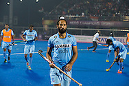 BHUBANESWAR (India) -  Hero Champions Trophy hockey men. Semifinal India vs Pakistan. Sardar Singh. Photo Koen Suyk