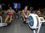 Birmingham, GREAT BRITAIN, Men's open category, Gold and bronze madallist, right Graham BENTON and Phil TURNHAM, competing at the British Indoor Rowing Championships, National Indoor Arena, Birmingham, ENGLAND. 12/11/2006, [Photo, Peter Spurrier/Intersport-images].....