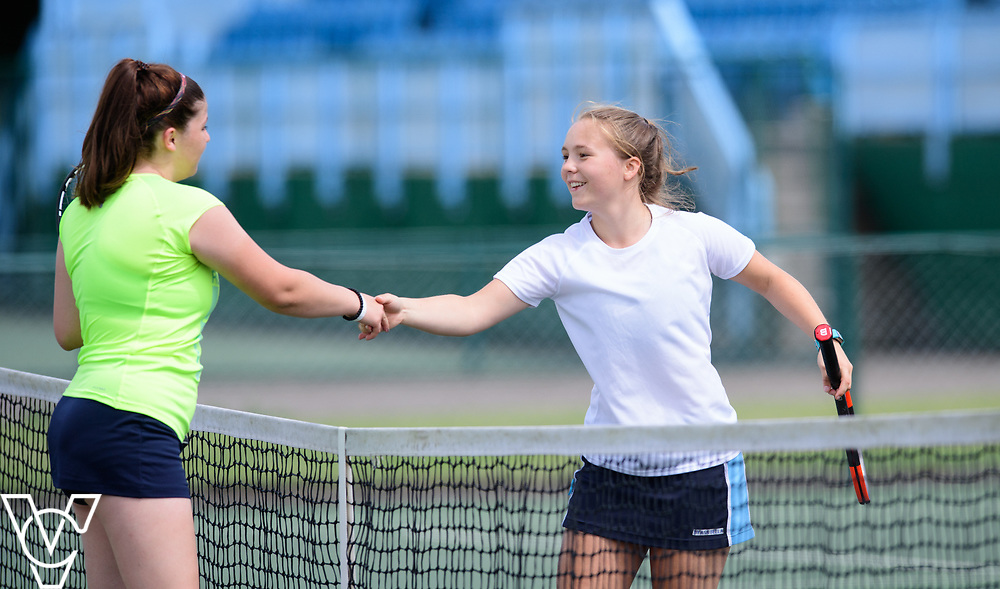 Team Tennis Schools National Championships Finals 2017 held at Nottingham Tennis Centre.  Culford School B and Pocklington School<br /> <br /> Picture: Chris Vaughan Photography for the LTA<br /> Date: July 12, 2017