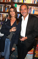 ROD WESTON and ANITA STAINES at a party to celebrate the publicarion of The Meaning of Tingo by Adam Jacot de Boinod held at the Daunt Bookshop, 83 Marylebone High Street, London on 18th October 2005.<br />
