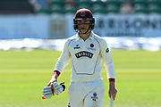 Tom Abell of Somerset during the Specsavers County Champ Div 1 match between Somerset County Cricket Club and Hampshire County Cricket Club at the Cooper Associates County Ground, Taunton, United Kingdom on 26 May 2017. Photo by Graham Hunt.