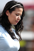 2008 British Touring Car Championship.Thruxton Circuit, Hampshire, United Kingdom.  17th-18th May 2008..Arkas Racing Grid Girl.World Copyright: Peter Taylor/PSP