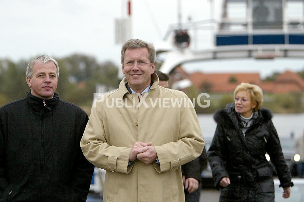 Portrait: Ministerpräsident Christian Wulff (CDU)
